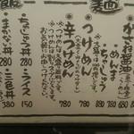 56485420 - メニュー(2016)