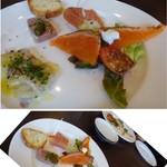 Bistro TOKI - ◆前菜4種盛り合わせ