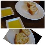Bistro TOKI - ◆パン・・無くなれば追加してくださいます。噛みごたえのあるハード系バケットでした。