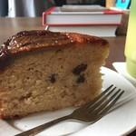 ハマ・ノ・テ labo - 料理写真:ラムレーズンバナナケーキ