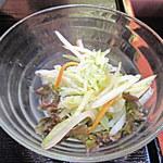 ニャーヴェトナム - 「ランチセット」の「パパイヤサラダ」