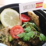 ユナイテッドカフェ - 「バルセロナ」 バジルレモンチキン