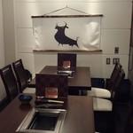 焼肉芝浦 - 新設された完全個室。