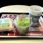 マクドナルド - 料理写真:ベーコンレタスバーガーのセット 650円