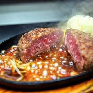 「ステーキを超えた」絶品ハンバーグ