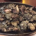 ぐんけい - 地鶏炭火焼です。