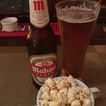 ボラチョ - 2016年9月3日  ビール&ポップコーン☆