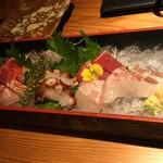 hassun - 鮮魚七種盛り