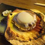 美味 - 「野田ホタテ」浜焼きを注文。デカイ‼︎