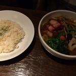 CHUTTA! - 2016年9月 ベーコン&ホウレン草 1050円(税込)