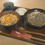 そば処 たみと - 料理写真:孝子丼セット