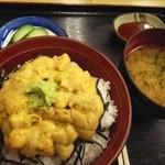 まんぷく食堂 - 料理写真:070806宮古市場うに丼1800
