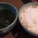 たい平 - ご飯とスープ