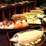 魚馳走亭 成昇 - 今日のオススメ料理は塩釜焼でした。