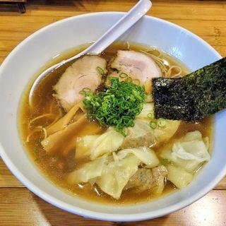 やくみや - 料理写真:やくみや(のーまる・わんたんめん・醤油・細麺 930円)