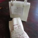 日光金谷ホテル ギフトショップ - 袋に食べ方の説明