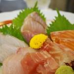魚ごころ 季魚喜人 - 刺身盛合せ 豪華7点 単品 1,200円