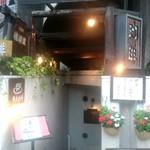 横濱屋 - 地下へおりる階段