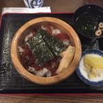 手こね茶屋 おはらい町中央店 - てこねずし ¥930-