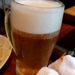センバキッチン - エビス生ビール