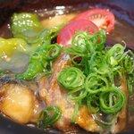 お野菜バル めい - お野菜バル特製ランチ日替り魚 1550円 の白身魚ゆず風味みぞれあん