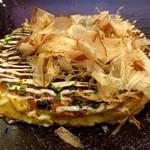 錦わらい イオンタウン豊中緑丘店 - Aセットのわらい焼ハーフ