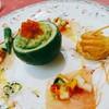 西洋館 - 料理写真:アミューズ:マグロと山芋のマリネ、地鶏の燻製、鮭のムース