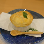 御船山楽園ホテル - 焼物 佐賀牛と春野菜のパイシチュー