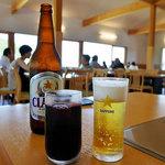 ジンギスカン白樺 - *ビール ¥550、ふらのぶどう果汁赤(グラス) ¥360*