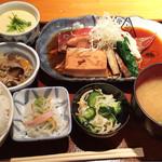 仁松庵 - 金目の煮付け定食