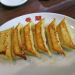 香蘭 - 焼き餃子 250円