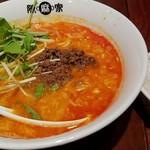 陳麻家 - 坦々麺 並850円+ライス50円 2016.9