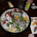 友池 - 鯛の刺身