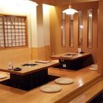 神戸牛炭火焼肉 大島屋 - 座敷(掘りごたつ式)