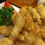 居酒屋 ちゅらんみ - 島らっきょうの天ぷら