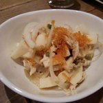 Oruburu - ささみと山芋のわさび和え
