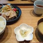 Ishibekoujimamecha - 本日のお肉とおばんざい御膳