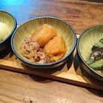Ishibekoujimamecha - おばんざい3種