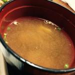 藤乃実 - 定食お味噌汁