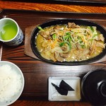藤乃実 - ジンギスカン定食 900円