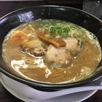 麺蔵ひの屋 - 魚介合わせ醤油ラーメン(700円)