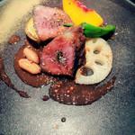 Restaurant MOTORA - イベリコ豚肩ロースのロースト