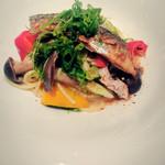 Restaurant MOTORA - 秋刀魚のアーリオオーリオ