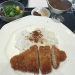 札幌北広島ゴルフ倶楽部 レストラン - 料理写真:カツカレー