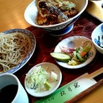 松月庵 - 平日ランチ限定『天丼セット』¥1080-