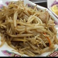中華料理 哲ちゃん-久しぶりの哲ちゃん。もやし炒め。