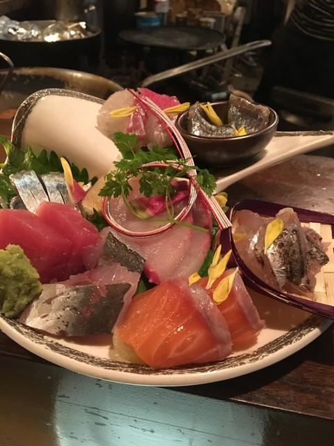 和食バル タケイチ - お造り盛り合わせ