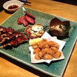 味処 藤の坊 - 夜コースの前菜