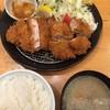 とんかつ せん石 - 料理写真:黒豚ロース&上ヒレかつ定食(小、各80gづつ)1,680円税込