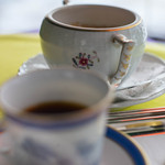 カフェ フラミンゴ - 咖啡碗(こおふィわん)越(ご)しの沙糖壺(さたうつぼ)